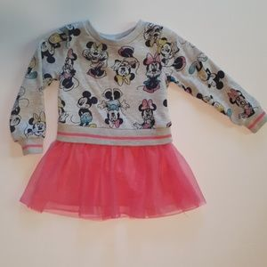 Minnie Mouse 2T Sweater Dress